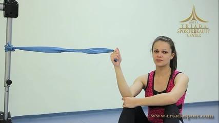 Комплекс от упражнения при хронични или остри болки в рамото