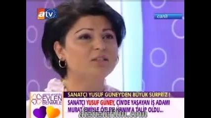 Esra Erolda Yusuf Guney - Part 2 2 Canli Yayin Saka