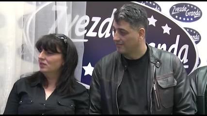 Dusan, Nikola Dinic i Minel Spahovic - Splet pesama - (Live) - ZG 13 14 - 19.04.2014. EM 28.