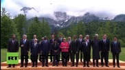 Germany: World leaders pose for group photo following G7 outreach meeting