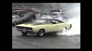 1969 Dodge Charger Burnout