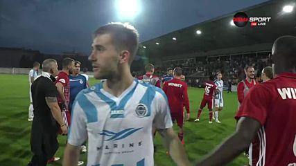 Бой между ЦСКА и Рига след мача