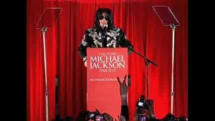 Майкъл Джаксън последни думи към феновете му.