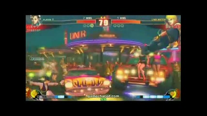 Street Fighter 4 - Chun - Li vs Ken