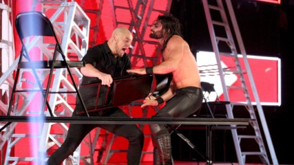 Seth Rollins vs. Baron Corbin - Intercontinental Championship Tables, Ladders & Chairs Match: Wal3ooha, 13 December, 201