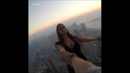 Вие бихте ли пуснали това момиче ?