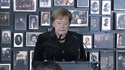 Poland: Remembering Nazi crimes 'does not end' - Merkel visits Auschwitz
