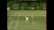 Най - удивителната точна на тенис
