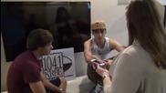 One Direction - Лиъм и Зейн ( и Луи) дават интервю за Roula and Ryan