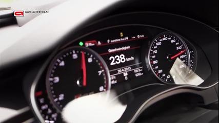 Audi Rs6 (2013) от 0 - 315 km/h