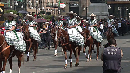 Mexico: Parade celebrates Mexican Revolution 109th anniversary