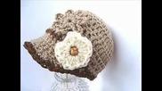Как да си изплетем на една кука красива зимна шапка