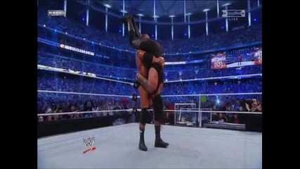 Triple h does Tobstone piledriver