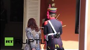 Argentina: Kirchner returns curved sabre of San Martin to National Historical Museum