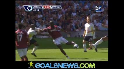 23/08/2009 West Ham - Tottenham 1:0 Cole
