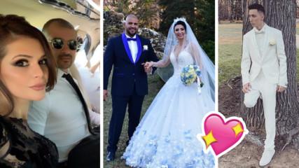 Лудата сватба на Софи Маринова! Кой дойде на купона, кой хвана букета?