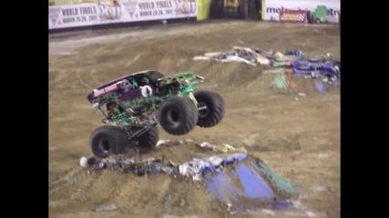 Jacksonville Monster Jam 2011 Grave Digger