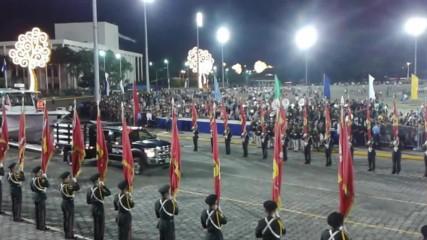 Военен парад в Никарагуа