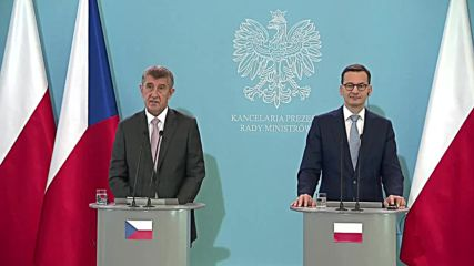 Poland: Czech and Polish PMs address Brexit, migration
