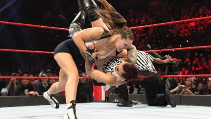 Ронда срещу Руби - Мачът за титлата при жените, Първична сила, 18 февруари 2019