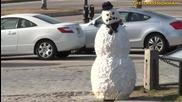 Страшен снежен човек - Скрита Камера