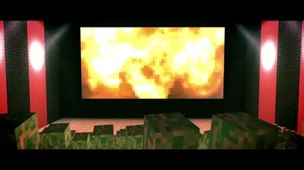 Minecraft-birth of a Creeper