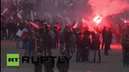Poland: Flares light the capital as Independence Day march remains peaceful