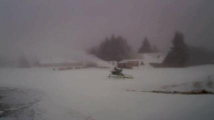 Сняг заваля над Пампорово