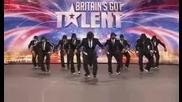 Мъже в черно!!!! - Британците имат талант