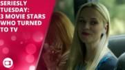3 кино звезди, които направиха трансфер в телевизията
