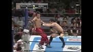G1 Climax Minoru & Prince Devitt vs. Jushin Liger & Akira 08/16/08