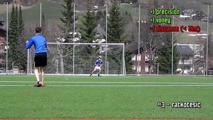 Топ 5 гола на седмицата #15/2012 Free Kicks & Shots