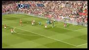 Манчестър Юнайтед 3 - 2 Астън Вила Кристиано Роналдо Гол *hq*