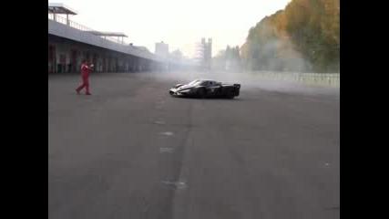 Звярът Ferrari Fxx прави слънца