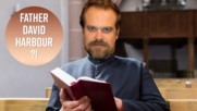 David Harbour promises to officiate a fan's wedding
