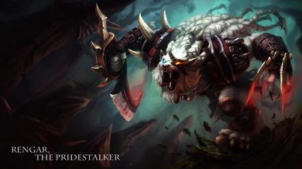 Rengar, The Pridestalker Champion Gameplay Preview