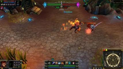 Volcanic Wukong League of Legends Skin Spotlight