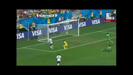 Мондиал 2014 - Франция 2:0 Нигерия - Франция не впечатли, но пречупи коравите нигерийци!