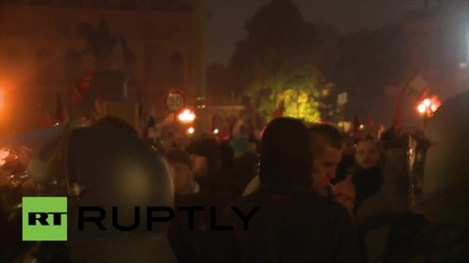 Germany: Tensions soar before Ruptly cameraman is attacked filming PEGIDA rally