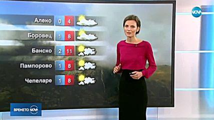 Прогноза за времето (13.11.2018 - централна)