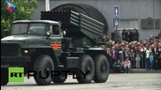 Ukraine: LPR marks the 70th anniversary of WWII victory with military parade
