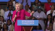 USA: Clinton pledges manufacturing 'renaissance' at Philly rally
