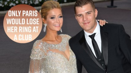 Paris Hilton lost her $2 million ring dancing at a club