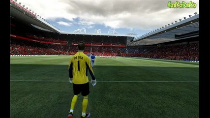 Fifa 12 ( Manchester United - Chelsea ) - дузпи !
