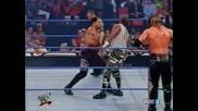 W W F Smackdown 08.30.2001 Дъдлитата и Тест с/у Брадшоу Фарук и Биг Шоу