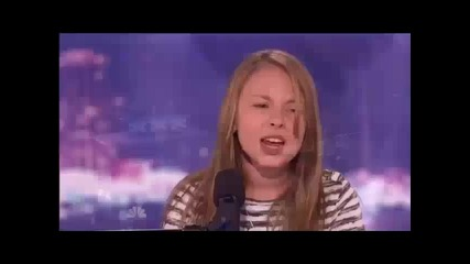 Момиче с изумителен глас! America's got talent !!!
