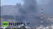 Yemen: Explosions rock Sanaa as Saudi-led coalition try to push back Houthis