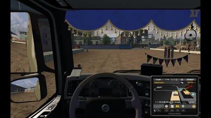 Euro Truck Simulator2 - Volvo ; Радио Fresh!