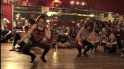 Nicki Minaj - Anaconda - Choreography by Tricia Miranda ft @kaelynnharris _ @nickiminaj @timmilgram