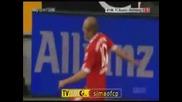 Bayern Munich 3:0 Wolfsburg Робен и Гомез донесоха победата на Байерн